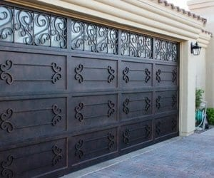 Ornamental Iron Doors